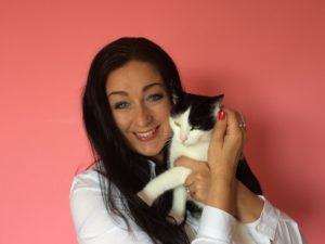 Chůva Jana z agentury Meow-sitting a její kočka Mia