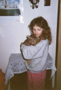 Simona a její králík
